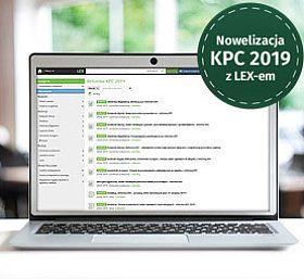W związku z dużą nowelizacją KPC - dedykowane hasło w LEX