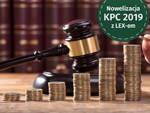 W związku z reformą KPC zmianie uległy też opłaty częściowe
