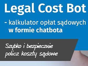 Oblicz opłaty sądowe z chatbotem!