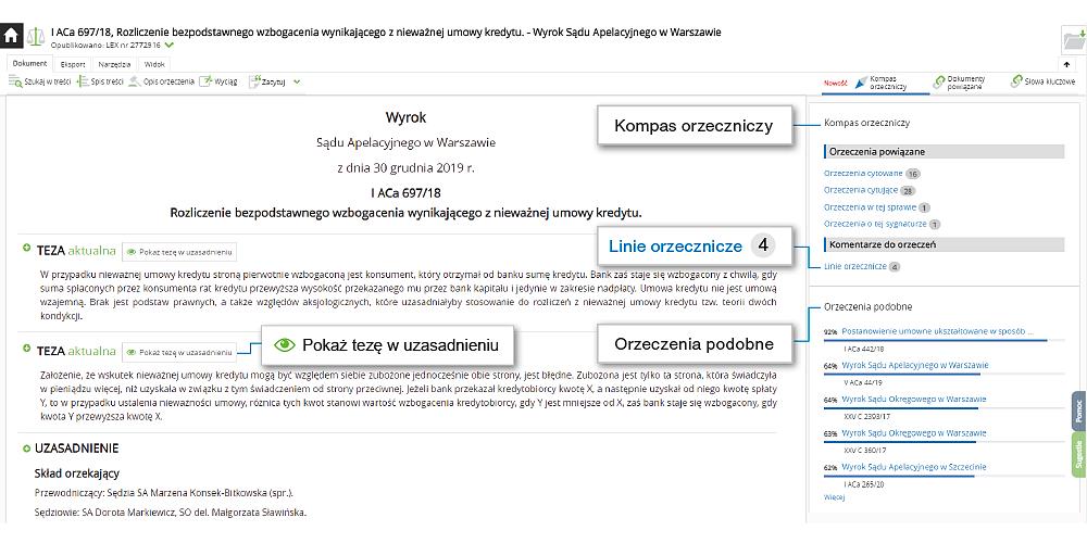 ekran kompas orzeczniczy web