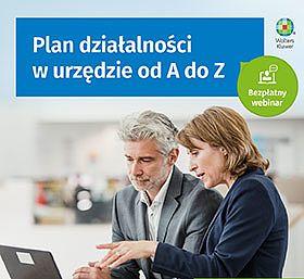 Plan działalności w urzędzie od A do Z - podwójne szkolenie!