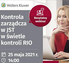 Kontrola zarządcza w JST w świetle kontroli RIO - szkolenie on-line